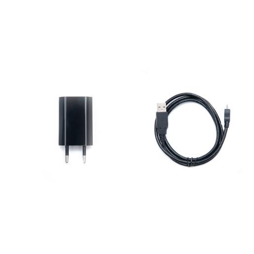 Adaptor Alimentare 5V - 1A + Cablu Alimentare/Cablu USB COMPACT S / COMPACT M