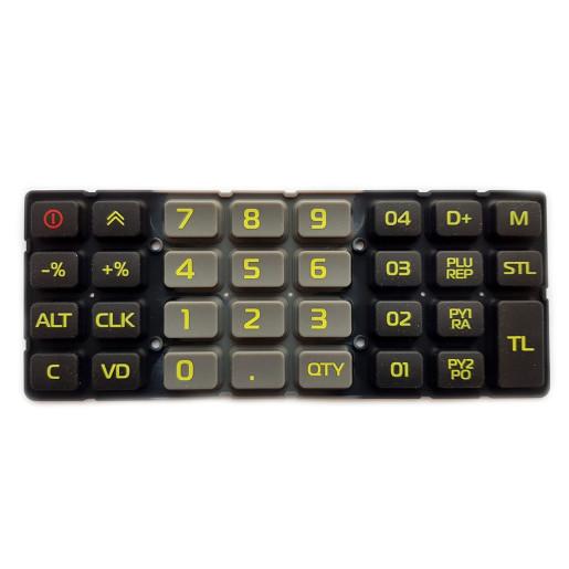 Tastatura Cauciuc - pt. MODELUL ROSU COMPACT M