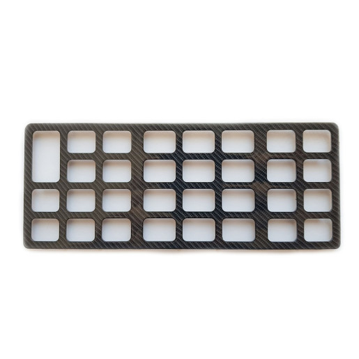 Suport Plastic Tastatura- COMPACT M ROSU
