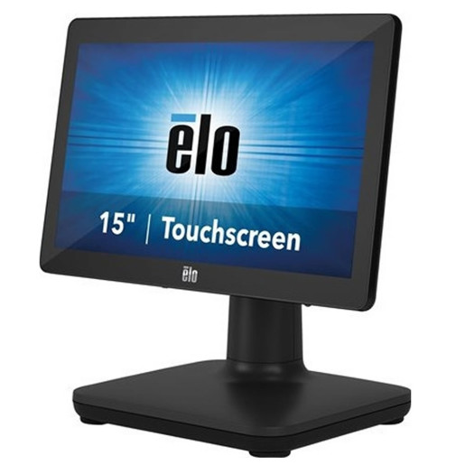 "EloPOS System Intel Core i3-8100T, 15"" , 4GB/128GB SSD, TouchPRO Pcap, STAND IN, Win 10"