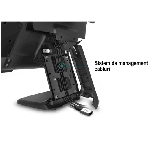 "Monitor TouchScreen capacitiv 15"" ZT 150L - Stand L"