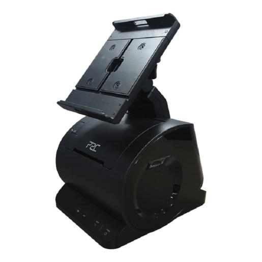 Smart Desk Dock System P2C T7 fara imprimanta negru