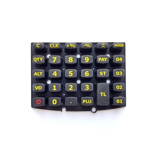 Tastatura Cauciuc - Model Rosu eXPERT SX