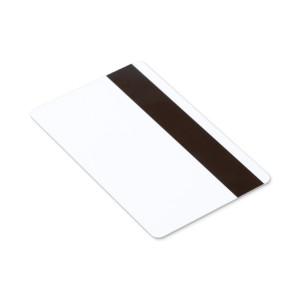 Card magnetic Zebra alb inseriat