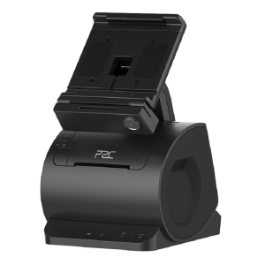Smart Desk Dock System P2C T7 fara imprimanta negru